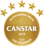 Canstar 2019 Outstanding Value Queensland Car Insurance