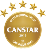 Canstar 2019 Outstanding Value South Australia Car Insurance